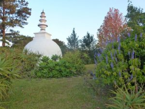 The Buddhist Retreat Centre stupa