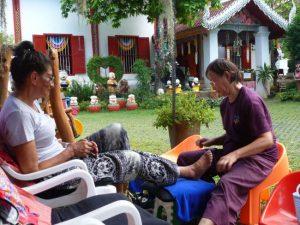 Reflexology temple grounds Chiangmai