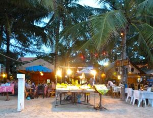 Smile restaurant Kamala beach in Phuket.
