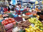 Stary Kleparz market scene.