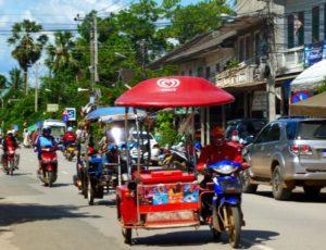 Luang Prabang street scene