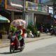 Luang Prabang umbrellas.