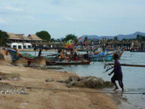 Bangrak fishermen Koh Samui