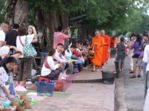 Luang Prabang monks.