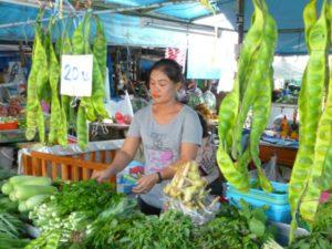 Parkia speciosa Phuket market