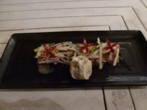 tuna tartare at Suay