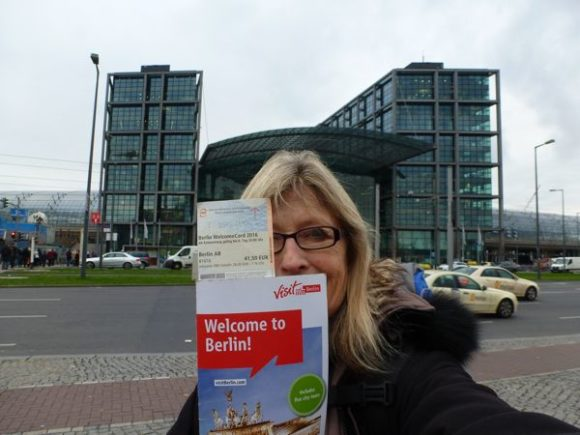 Berlin Welcome Card pictured.