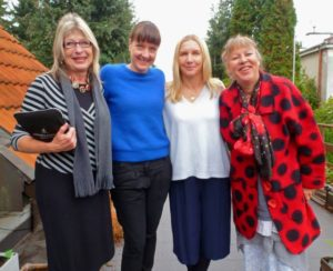 Wanda Hennig, Agata Michalak, Daria Pawlewskaat, Diane De Beer