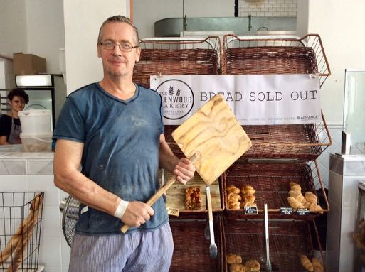 Adam Robinson chef baker