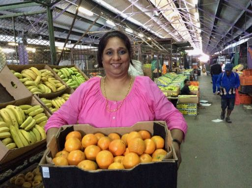 Early Morning Trader Romila Chetty